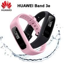 100% Оригинальный huawei Band 3e 50 метров водонепроницаемый СНПЧ разработка интеллектуального бега Спортивный Браслет мониторинг сна