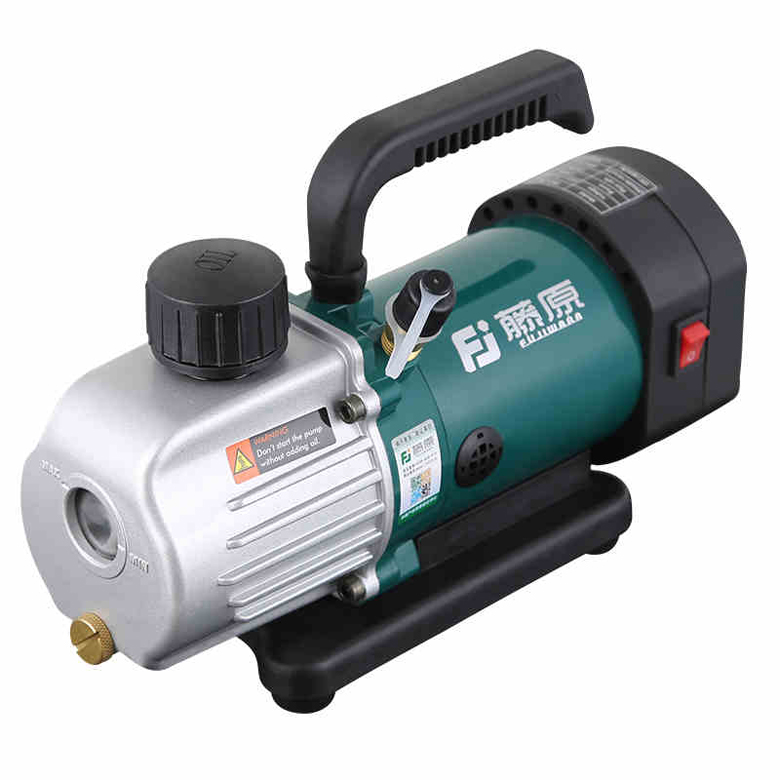 Rotary Vane Vacuum Pump Single Stage 1.8CFM 1/6HP air conditioning pump 50ml/min 125W купить