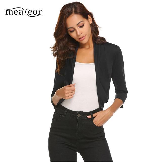 Aliexpress.com: Comprar Meaneor Casual corta de las mujeres se ...