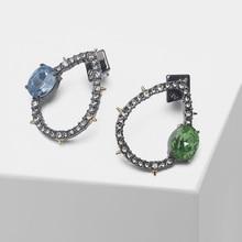 купить Exquisite water drop design glitter fashion drop earrings по цене 1047.36 рублей