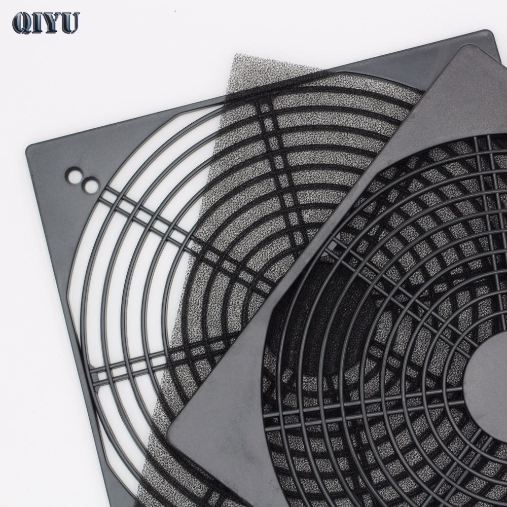 20cm Fan Guard 20060/18060 Fan Dust Filter Protection Grill Cover Plastic Computer Radiator Cooling Fan Cooler Cover Net
