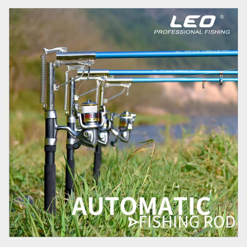 Automatic Fishing Rod 2.1m 2.4M 2.7M Telescopic Fishing Rod Automatic Angling Device Glass Fiber Stainless Steel Material