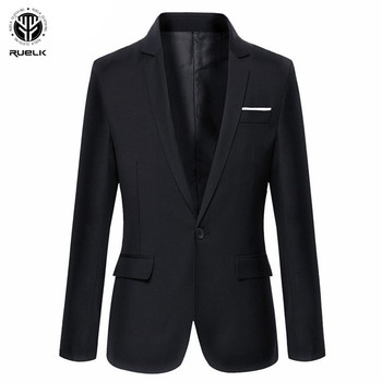 RUELK New Arrival Brand Clothing Autumn Suit Blazer Men Fashion Slim Male Suits Casual Solid Color Masculine Blazer Size M-6XL
