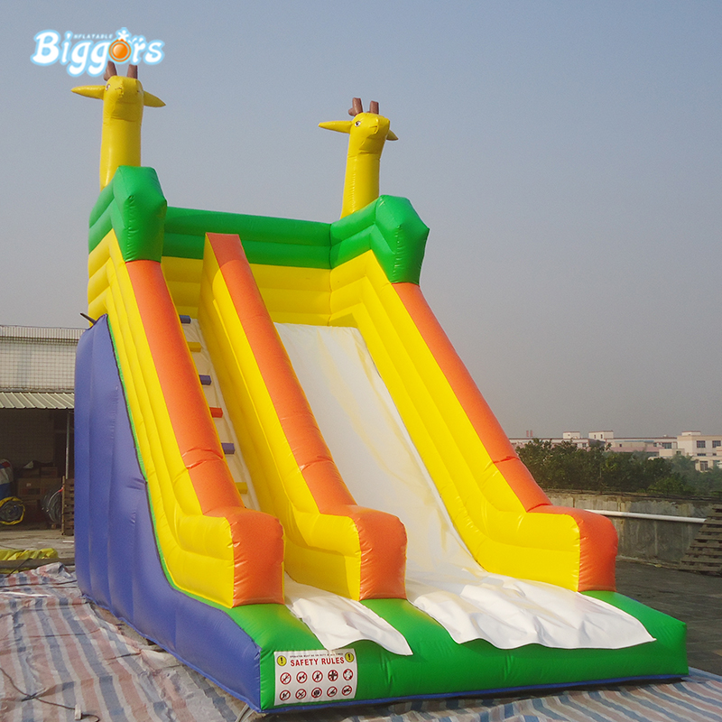 Commercial backyard inflatable slide inflatable bouncy slide for sale
