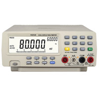 Sıcak Satış Profesyonel Dijital Masa Üstü Multimetre Yüksek Kalite Sıcaklık metre PC DMM 80000 Tester Analog Çubuk Grafik w/23 s