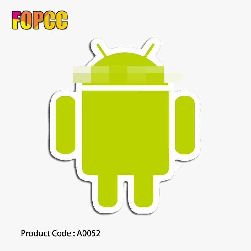 Android Logo stickers for children DIY Graffiti Luggage Laptop Skateboard Motorcycle Phone Waterproof PVC Decals car Sticker