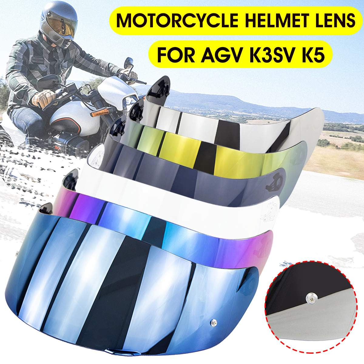 For JIEKAI 316 902 Model GXT 902 Model K3SV K5 Motorcycle Helmet Glasses Visors