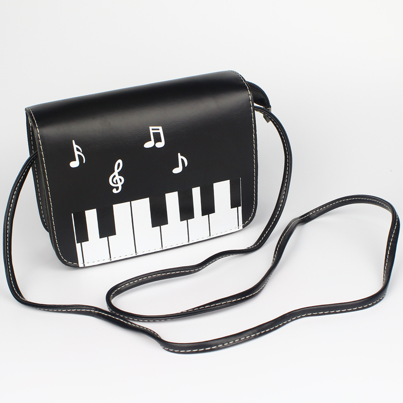Fashion Women Bags Good Quality Lady Shoulder Messenger Bag Coin Keys Phone Money Purse Cover Shell Flap Girls Piano Zipper Bag