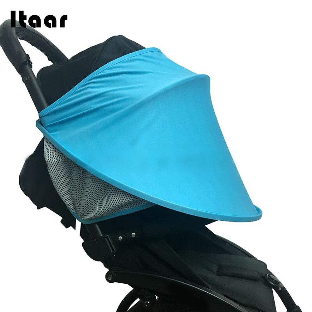 Newborn Stroller Shading Protective Infant Stroller Shading Umbrella Organiser 2 Colors Kids Pushchair Baby Stroller Shading