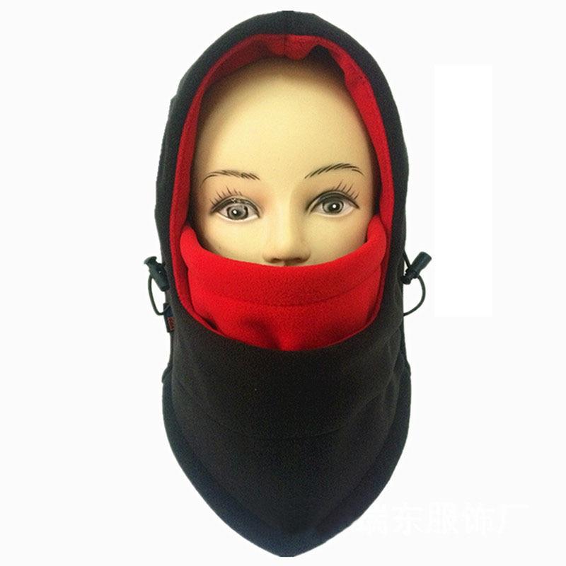 2017 Double Layers Thick Cap Warm Wargame Winter Hat Mask Windproof Beanie Men Women Hats Roman Thermal Fleece Balaclava Hat W5 large double layers folding umbrella windproof rain gear