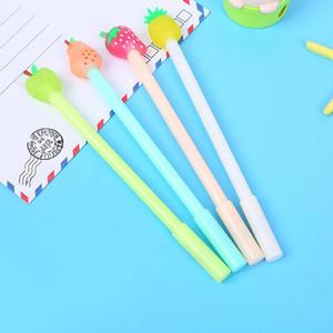Image 4 - Jonvon Satone 40 Pcs 도매 어린이 쓰기 펜 과일 펜 귀여운 아이 물 기반 펜 Kawaii 편지지 학교 용품에 대 한