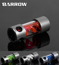 BARROW 155mm X 50mm Double Helix T-Virus Cylindrical Water-Cooled Coolant Tank Light System Alloy Cover POM+PMMA Reservoir