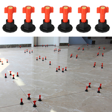 Reusable Tile Leveler Spacers with Special Wrench Tile Positioning Tool for Floor Wall Construction