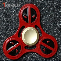 TOFOCO Hand Spinner Fidget Spinner Stress Cube Brass Focus Keep Toy And ADHD EDC Anti Stress