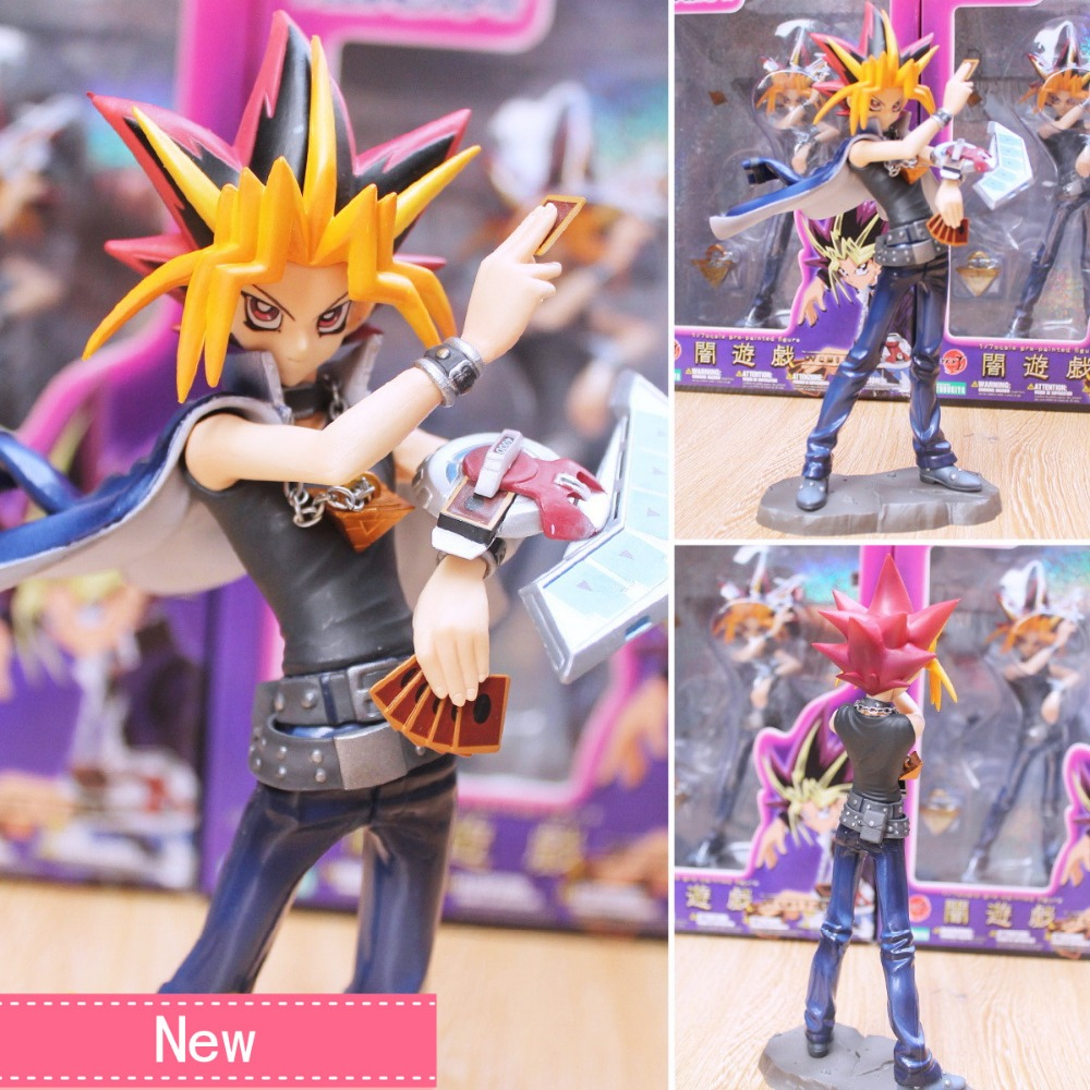 anime yu gi oh duel monsters yami yugi pvc action figure
