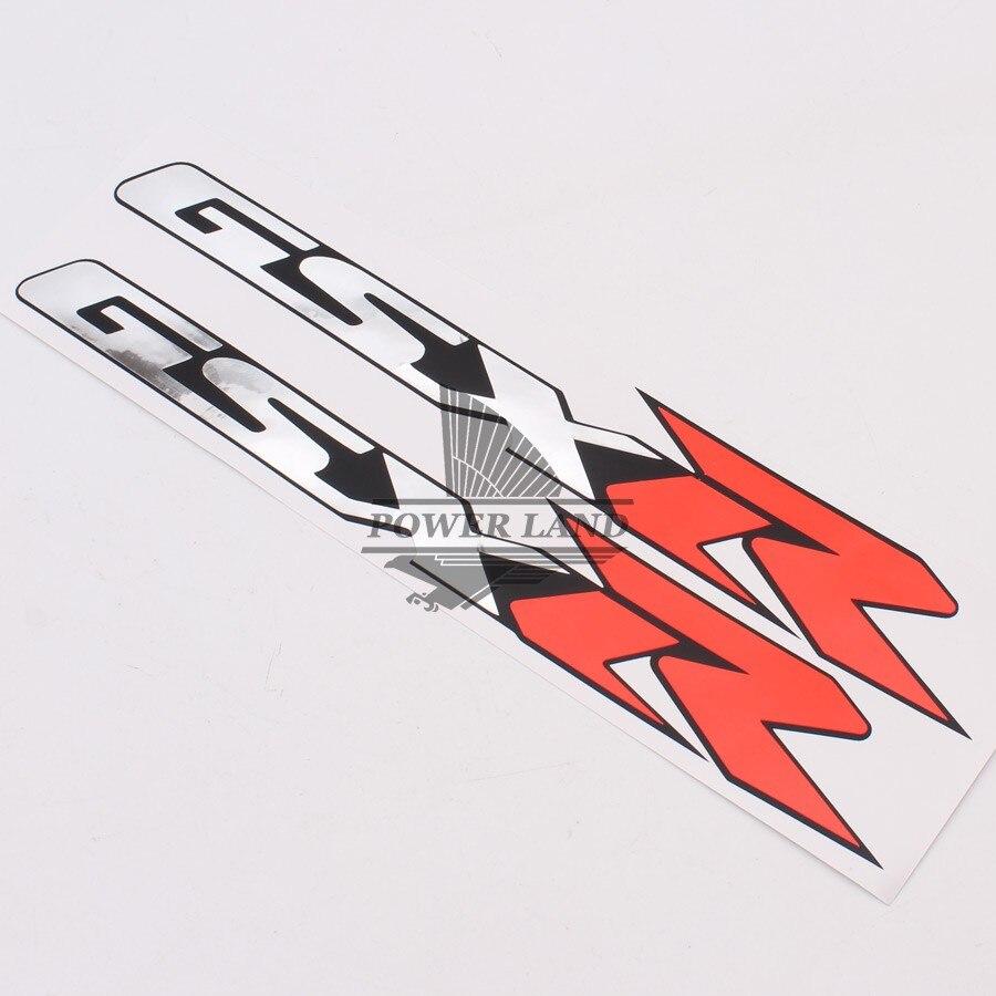 Motorrad Verkleidung Shell Reflektierende Aufkleber Vinyl Logo Abzeichen Fur Suzuki GSXR GSX R Gsxr Gsx Moto In