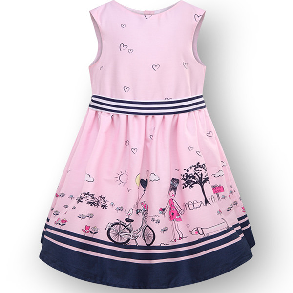 Online Shop Beautiful~2015 brand summer little girl dress ...