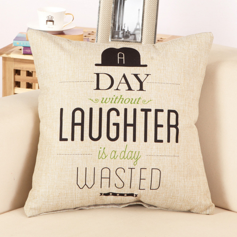 Fashion Letter Cushion No Inner Design English Words Polyester Home Decor  Sofa Car Seat Decorative Throw Pillow Without Filled In Cushion From Home U0026  Garden ...