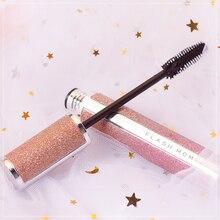 FLASHMOMENT Starry Sky 4d Silk Fiber Lash Mascara Long Curling Makeup Eyelash Black Waterproof Fiber Mascara Eye Lashes Makeup