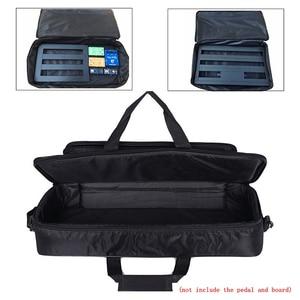 Image 5 - 60*24.5*10cm Universal Portable Guitar Effects Pedal Board Gig Shoudler Bag 20mm Sponge Thicken Soft Case Big Style Guitar Pedal