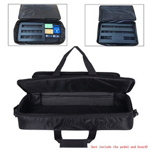 Image 5 - Pedal portátil Universal para efectos de guitarra, 60x24,5x10cm, bolsa de 20mm de esponja gruesa, funda suave, Pedal de guitarra de estilo grande