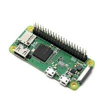 Raspberry pi zero w/wh com 40 pinos pré-soldado gpio headers com wifi e bluetooth em demo broad 1ghz cpu frete grátis