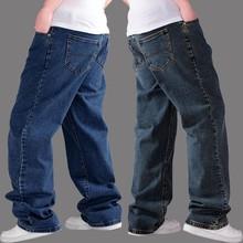 Размера плюс, xxxl, 4xl, 6xl, Мужская одежда, джинсы, брюки, толстые, свободные, фабричные, джинсовые, мужские, брендовые, синие, хлопковые