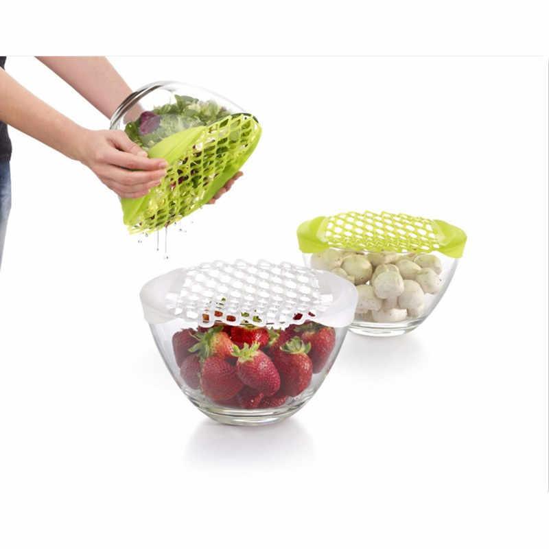 Ferramentas de cozinha multi-purpose silicone descongelar filtro líquido líquido almofada de descongelamento para saladas massas carnes frutas