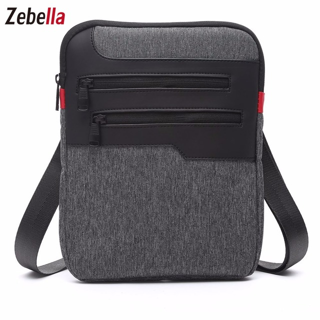 Casual Mens Messenger Shoulder Bag For iPad Satchel Nylon Travel Business Briefcase Chest Pack Handbag 1