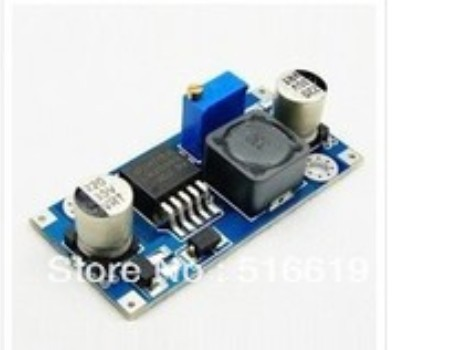 free shipping LM2596S BUCK DC-DC voltage power supply module 3 a adjustable step-down voltage regulator module LM2576 цена и фото
