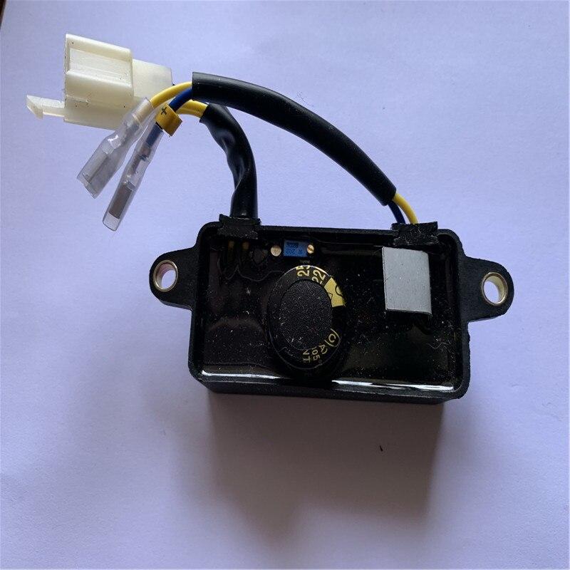 2kw 2.5kw 2.8kw 3kw GX160 168F essence avr régulateur de tension automatique monophasé ac petit générateur pièces de rechange 250v