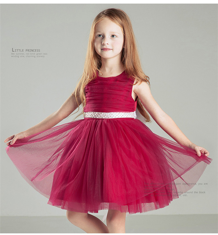 Knee-Length Flower Girls Dresses For Weddings Tulle Kids Evening Gowns A-Line Mother Daughter Dresses for Girls With Hade Make free shiping flower girls dresses for wedding gown ankle length kids evening gowns tulle mother daughter dresses with sashes
