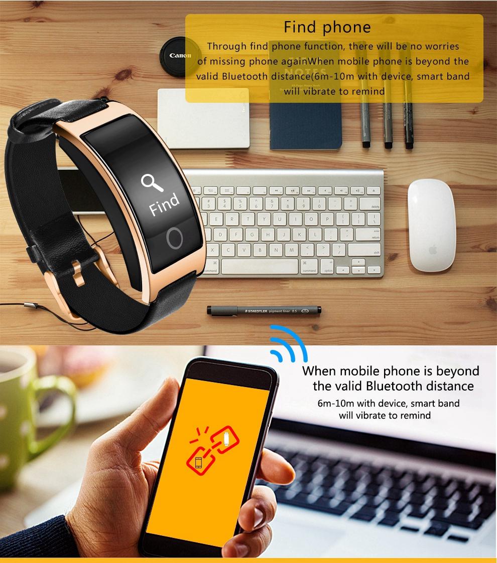 FREZEN NEW CK11S Smart Band Blood Pressure Heart Rate Monitor Wrist Watch Bracelet Fitness Bracelet Tracker Pedometer Wristband 4