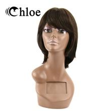 Chloe Brazilian Virgin Hair Straight Lace Frontal Wigs Density 130% 100% Human Hair Wigs Style FT-1185