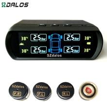 SZDALOS Solar TPMS newest technology Car Tire Diagnostic-tool with mini external