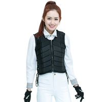 Man/Women Horse Riding Protection Vest Waistcoat Safe Equestrian Eventer Body Adjustable EVA Unisex Racing Jacket Armor