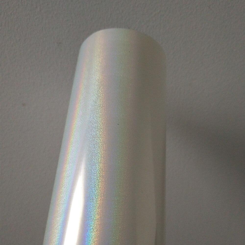 Holographique feuille transparent modèle sables mouvants Y25 estampage à chaud feuille presse à chaud sur papier cartes ou en plastique film estampage à chaud