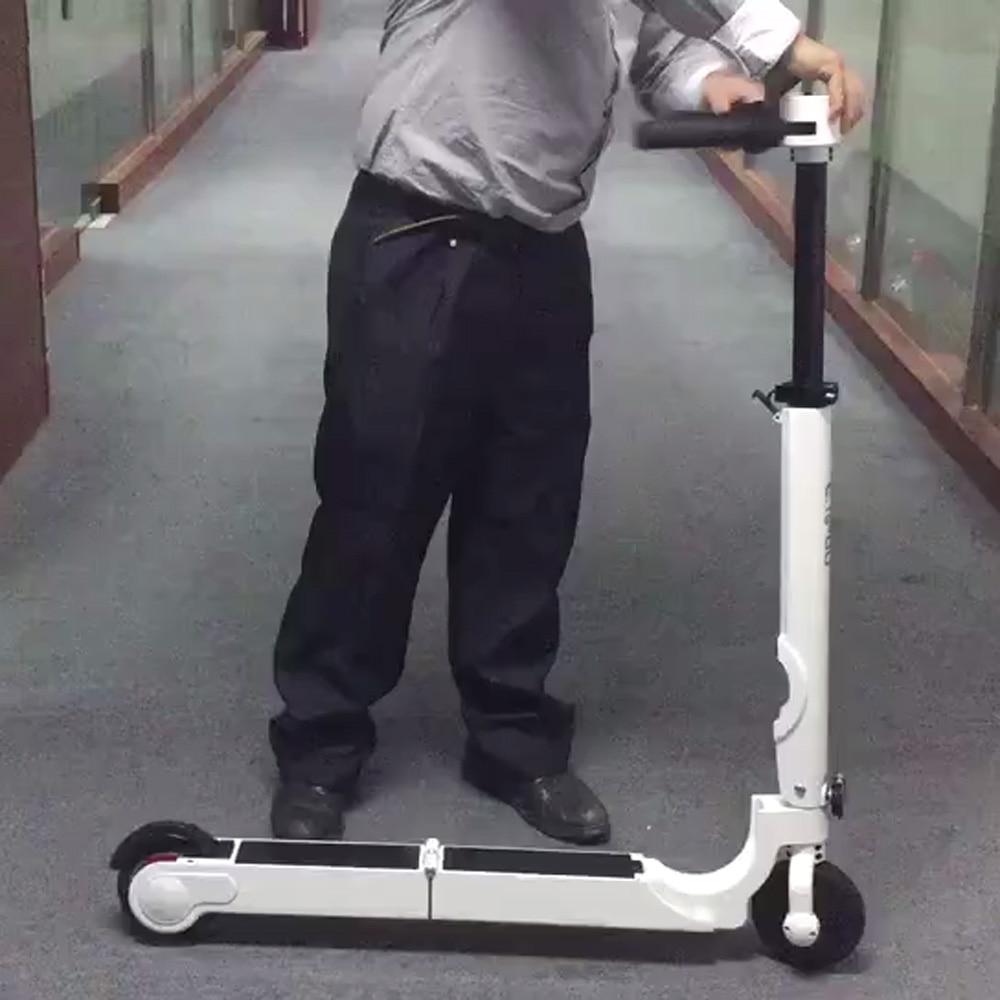 Elektro-scooter Pocket Bike Kick Skateboard Roller Duftendes Aroma Die Meisten Kleine 300 W 24 V Elektrische Roller Mit Lenker