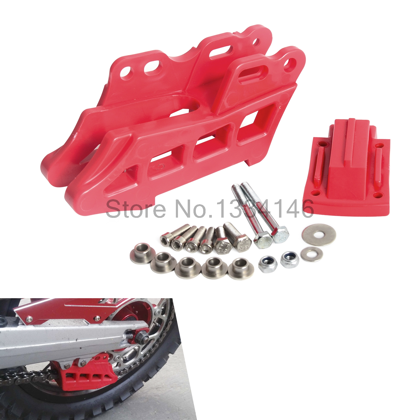 NICECNC Motorcycle Chain Guide Guard Protector For Honda CRF250L/M CRF250L CRF250M 2012-2015 XR250 XR 250 Baja Motard 1995-2007