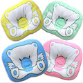Factory direct sale infant bed accessories baby pillows kids cartoon anti-bias headrest, small children orthopedic pillow