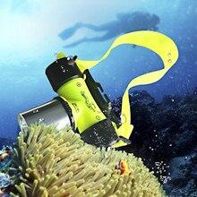 Underwater 2000 Lumen XM L XML T6 Diving Headlamp LED Waterproof 20m 3 Mode Swimming Headlight