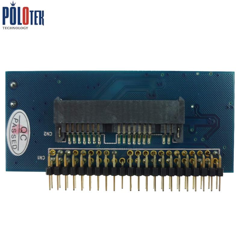"16pin Micro SATA SSD 1.8/"" to 2.5/"" 44 pin IDE Adapter Connector Card JM20330"