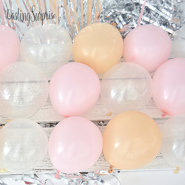 30pcs 5 Birthday Balloons Decoration Girl Wedding Balloons Air