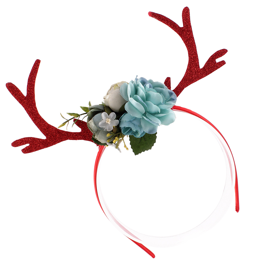 Headband Gift Women Girls Christmas Deer Antlers Costume Ear Party Hair Floral Hairband Hair Accessory for Girls Kids in Women 39 s Hair Accessories from Apparel Accessories