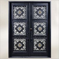 Custom Design Forged Wrought Iron Front Doors Iron Doors Iron Entry Doors H Wid9