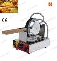 110V 220V Electric Non Stick Hongkong Eggettes Egg Puff Bubble Waffle Egg Waffle Maker Rotated 180