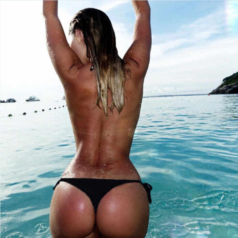 水着女性ビキニセクシーな小型ブラジルビキニ 2020 ボトム水着 g ストリングマイクロミニひもパンティー下着ビキニ