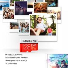 Original SAMSUNG EVO+ Memory Cards 64GB EVO plus U3 128GB 256GB Class10 Micro SD Card 32GB 16G microSD UHS-I TF Card