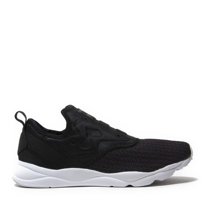 Fitness & Cross-Training Shoes REEBOK FURYLITE SLIP-ON BS5305 sneakers for female TmallFS hanschic 2018 spring new arrival houndstooth design retro slip on lady womens med heels pumps shoes for female 001