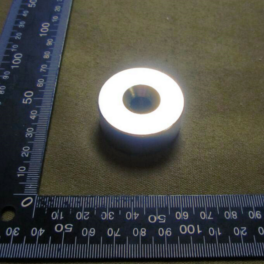 1pcs Super Powerful Strong Bulk Small Round NdFeB Neodymium Disc Magnets Dia 40mm x 20mm hole 10mm   Rare Earth NdFeB Magnet 2pcs bulk strong ndfeb countersunk block magnets 40mm x 40mm x 20mm with single hole n35 neodymium square cuboid magnet